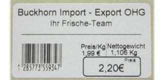 preis-Etikett